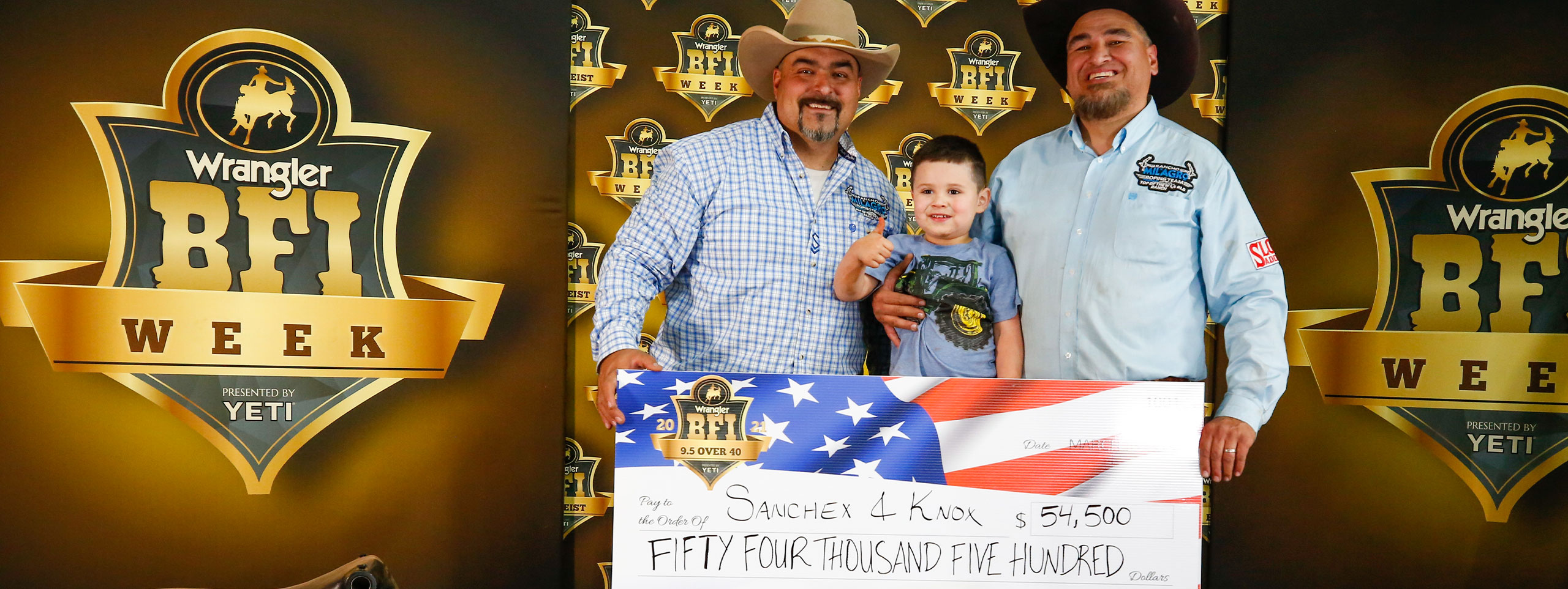 Complete Results From The 2021 BFI Week 9.5 Over 40 Roping
