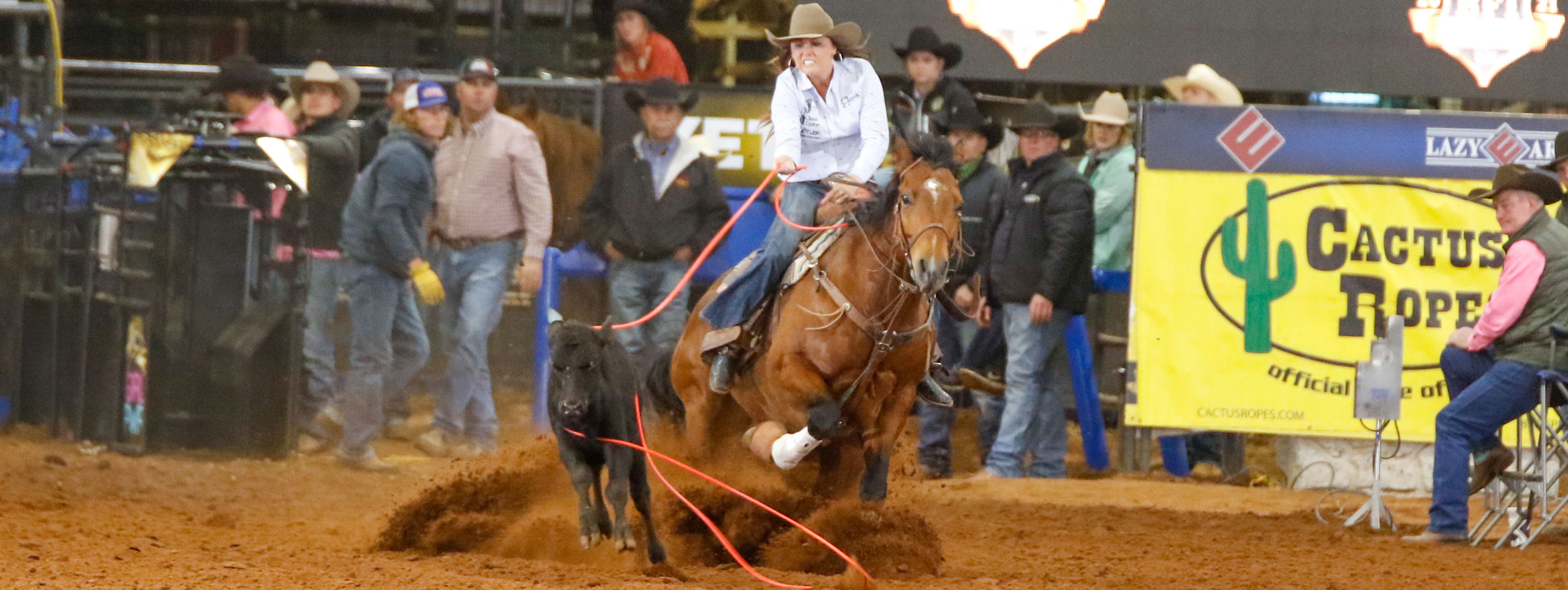 Complete Results From The 2021 BFI Week Charlie 1 Horse All-Girl Breakaway Roping